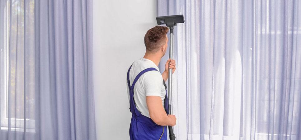 كفاءة عالية في تنظيف المنازل والستائر